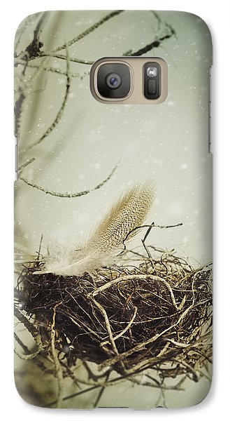 Galaxy Case featuring the photograph Winter Lullaby by Amy Weiss