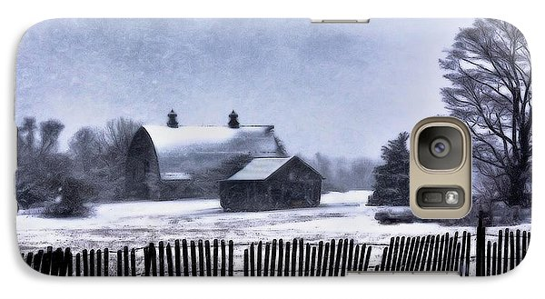 Galaxy Case featuring the photograph Winter by Mark Fuller