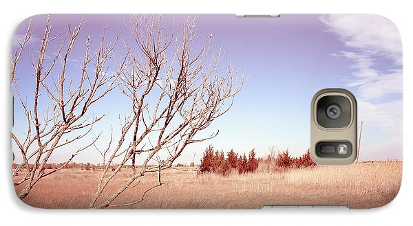 Galaxy Case featuring the photograph Winter Marshlands by Colleen Kammerer
