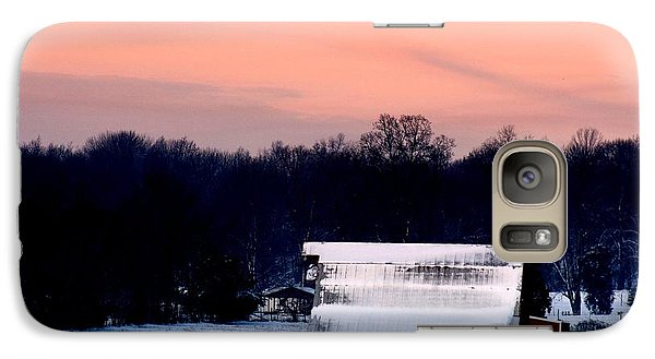 Galaxy Case featuring the photograph Winter Morn by Diane Merkle