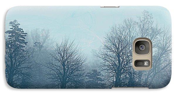 Galaxy Case featuring the digital art Winter Morning by Milena Ilieva