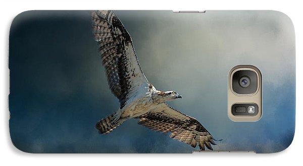 Winter Osprey Galaxy S7 Case by Jai Johnson