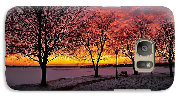 Galaxy Case featuring the photograph Winter Park by Terri Gostola
