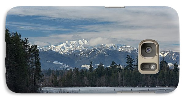 Galaxy Case featuring the photograph Winter by Randy Hall