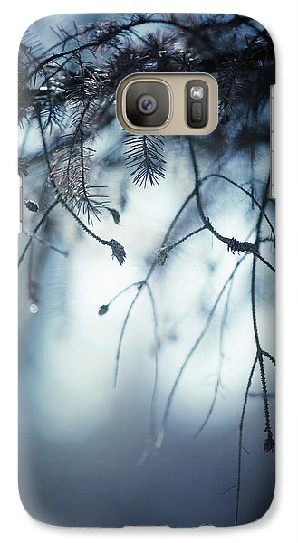 Galaxy Case featuring the photograph Winter by Rebecca Cozart