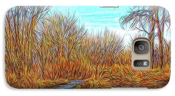 Winter River Breeze Galaxy S7 Case