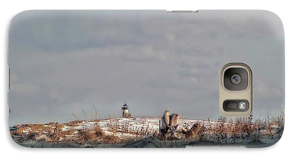 Galaxy Case featuring the photograph Winter Scented Sand by Richard Bean