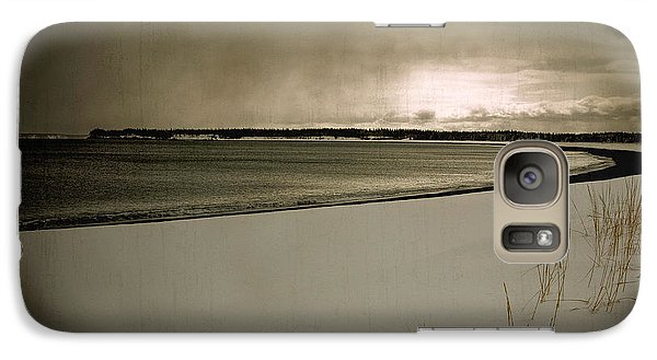Galaxy Case featuring the photograph Winter Solitude by Alana Ranney