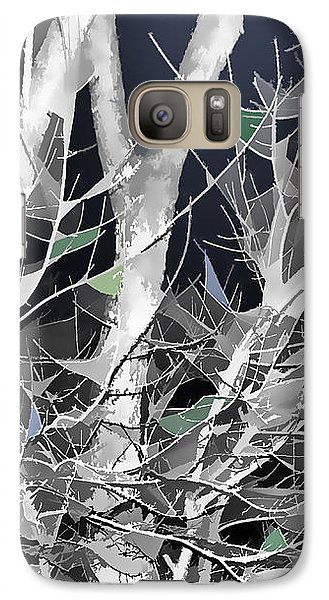 Galaxy Case featuring the digital art Winter Song by Wendy J St Christopher