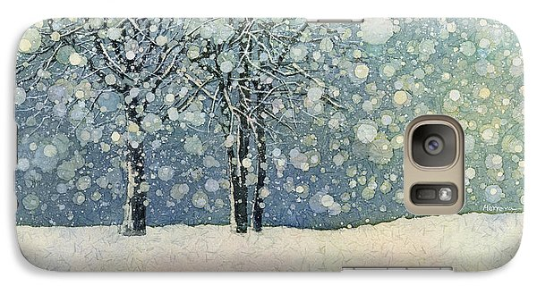 Galaxy Case featuring the painting Winter Sonnet by Hailey E Herrera