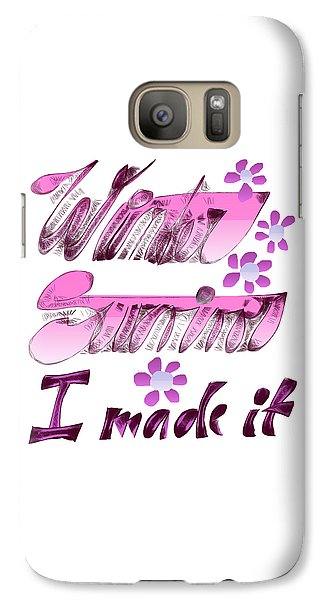 Galaxy S7 Case - Winter Survivor by Ivana Westin