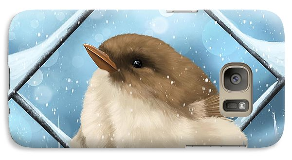 Galaxy Case featuring the painting Winter Sweetness  by Veronica Minozzi