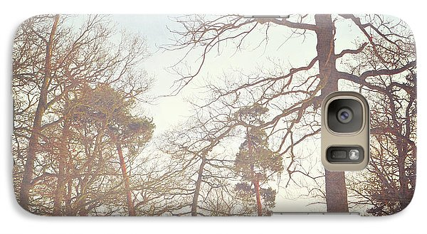 Galaxy Case featuring the photograph Winter Trees by Lyn Randle