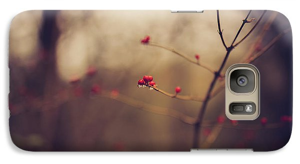 Galaxy Case featuring the photograph Winter Whispers by Shane Holsclaw