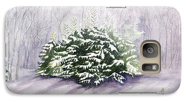 Galaxy Case featuring the painting Winter Wind by Melly Terpening