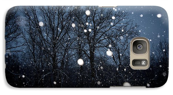 Galaxy Case featuring the photograph Winter Wonder by Annette Berglund