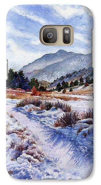 Galaxy Case featuring the painting Winter Wonderland by Anne Gifford