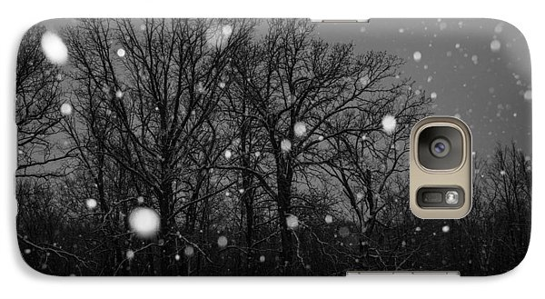 Galaxy Case featuring the photograph Winter Wonderland by Annette Berglund