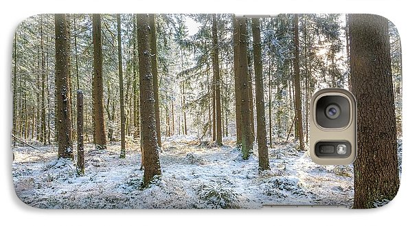 Galaxy Case featuring the photograph Winter Wonderland by Hannes Cmarits