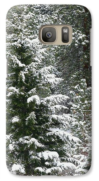 Galaxy Case featuring the photograph Winter Woodland by Will Borden
