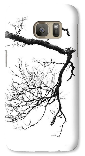 Galaxy Case featuring the photograph Wintered Over by Skip Willits