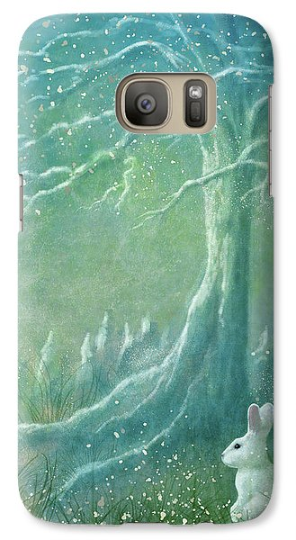 Galaxy Case featuring the digital art Winters Coming by Ann Lauwers