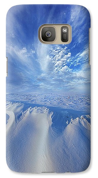 Galaxy Case featuring the photograph Winter's Hue by Phil Koch
