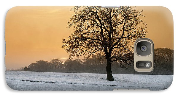 Castle Galaxy S7 Case - Winters Morning by Smart Aviation