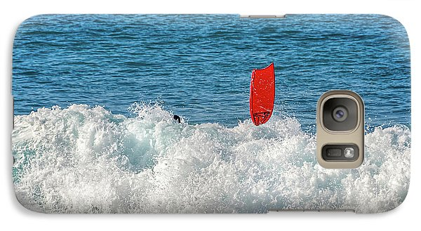 Galaxy Case featuring the photograph Wipe Out by David Lawson