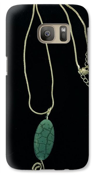 Galaxy Case featuring the jewelry Wire Wrapped Pendant by J Cheyenne Howell