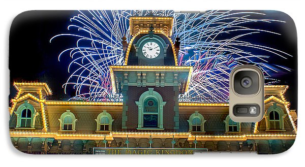 Wishes Over Magic Kingdom Train Station. Galaxy S7 Case