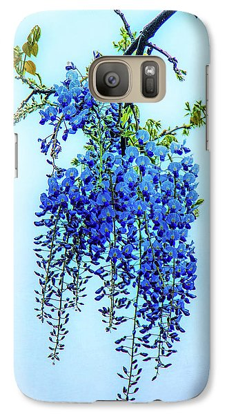 Galaxy Case featuring the photograph Wisteria by Chris Lord