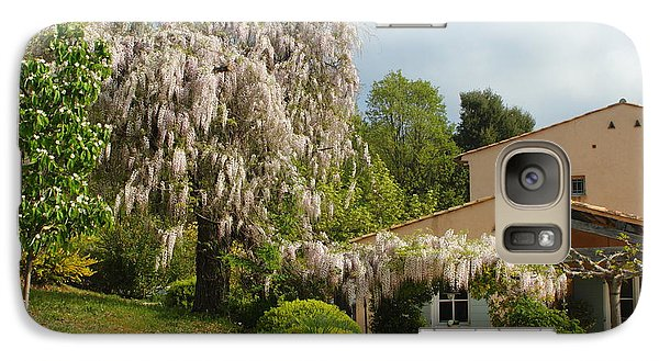 Galaxy Case featuring the photograph Wisteria by Richard Patmore