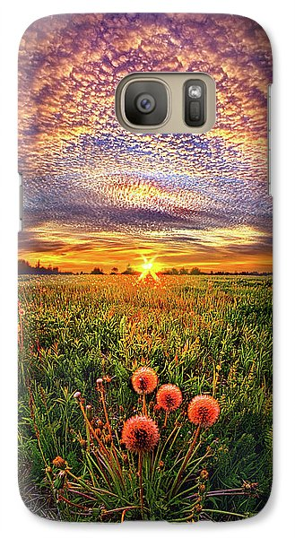 Galaxy Case featuring the photograph With Gratitude by Phil Koch