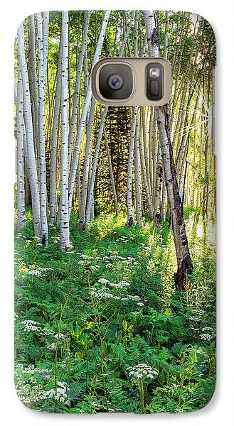 Galaxy Case featuring the photograph Within The Forest Deep by Tim Reaves
