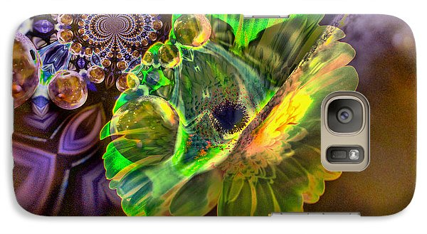 Galaxy Case featuring the photograph Within The Mind Meld by Jeff Swan