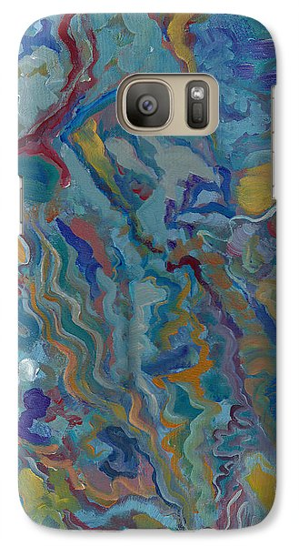 Galaxy Case featuring the painting Without Limitations by John Keaton