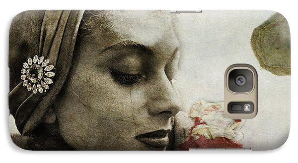 Galaxy Case featuring the mixed media Without You  by Paul Lovering