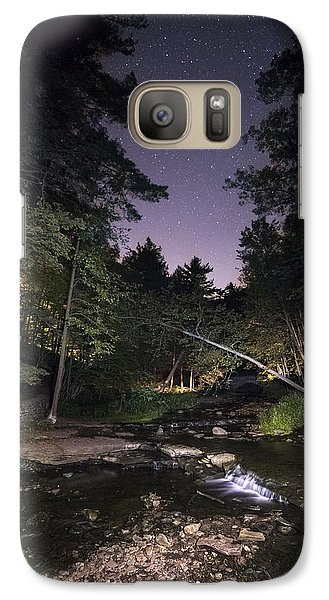Galaxy Case featuring the photograph Wolf Creek Starry Night by Mark Papke