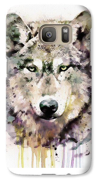 Wolf Head Galaxy S7 Case