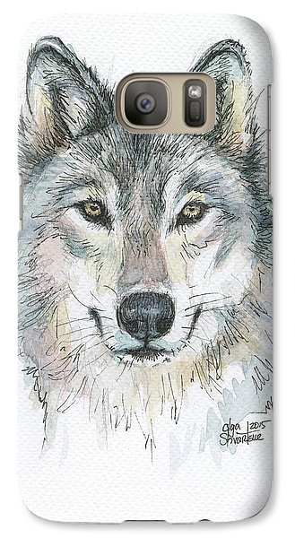 Wolves Galaxy S7 Case - Wolf by Olga Shvartsur