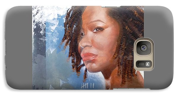 Galaxy Case featuring the painting Woman Of Magdala by Christopher Marion Thomas