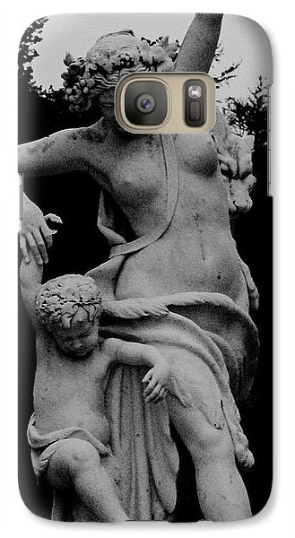 Galaxy Case featuring the painting Woman Statue by Eric  Schiabor