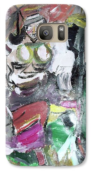 Galaxy Case featuring the painting Women Art 102 by Robin Coaker