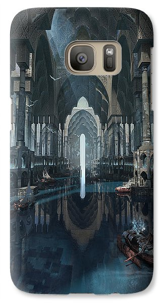 Galaxy Case featuring the digital art Wonders The Canal Of Isfahan by Te Hu