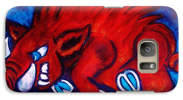 Woo Pig Galaxy S7 Case by Laura  Grisham