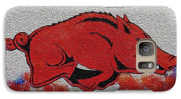 Woo Pig Sooie 2 Galaxy Case by Belinda Nagy