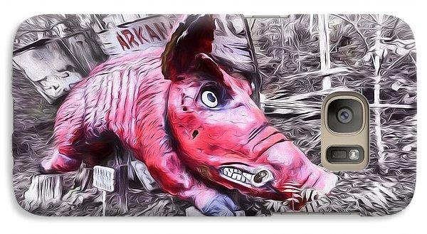 Woo Pig Sooie Digital Galaxy Case by JC Findley