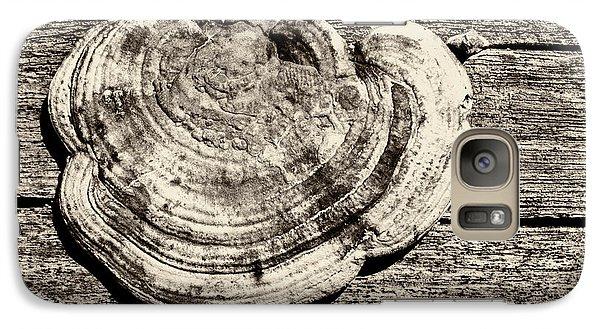 Galaxy S7 Case featuring the photograph Wood Decay Fungi, Nagzira, 2011 by Hitendra SINKAR