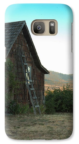 Wood House Galaxy S7 Case
